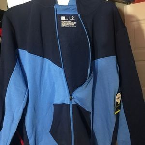 🛑Never Used🛑 Xersion Blue Hoodie size:XL